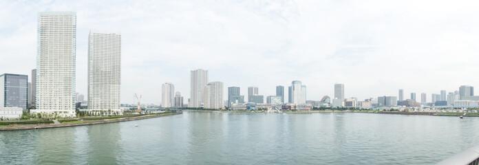 豊洲の東京湾風景