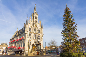 City hall in Gouda, the Netherlands