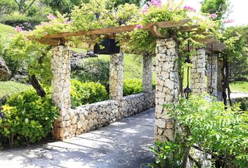 Arch in the garden