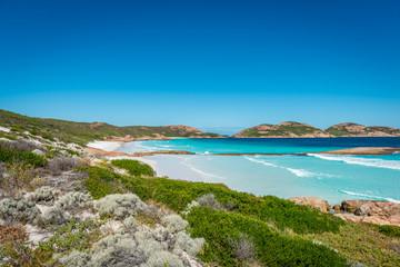 Rocks on the beach, Lucky Bay, Esperance, Western Australia