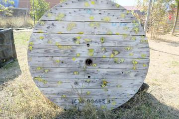 paintball structure woodball scenario impact