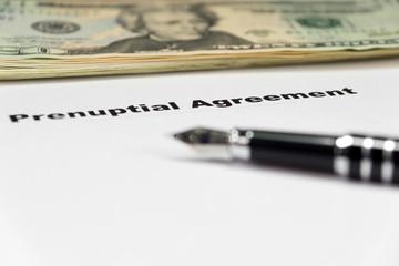 Ehevertrag und Geld