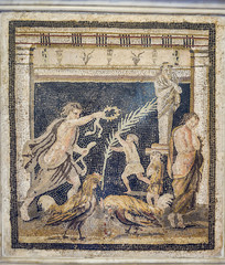 Pompeii Roman Mosaic