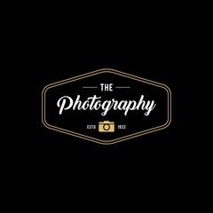 Photography Badges and Labels in Vintage Style