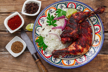 Indian chicken tandoori