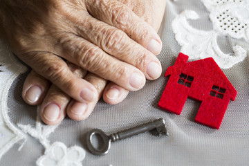 Home and Old Woman