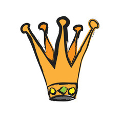 cartoon royal crown