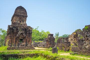My Son ruins Cham temps site, Vietnam