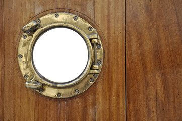 porthole with isolated window
