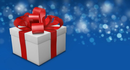 Christmas Greeting Gift Background