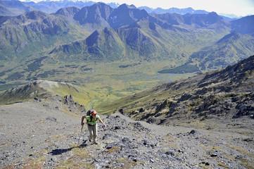 Backpacking Alaska Chugach Mountains
