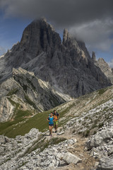 Hiking and Trail Running the Italian Alta Via 1