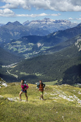 Hiking and Trail Running the Italian Alta Via 1