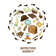 Detective Agency Round Composition