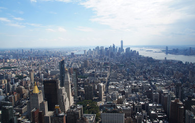 Manhatten View from Empire State Building
