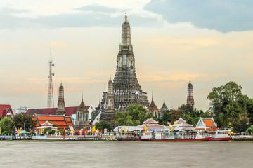 Wat Arun The Temple in Bangkok of Thailand.
