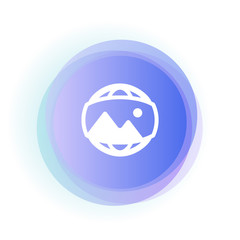 Abstract App Button