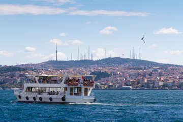 Water ferry in Istanbul