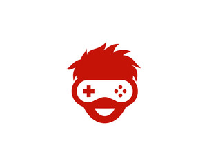 Game Geek Boy Logo