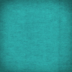 Canvas turquoise texture background