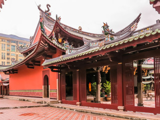Thian Hock Keng Temple or Temple of Heavenly Happiness - is one of the oldest and most important Chinese Buddhist Temples in Singapore. Duxton Hill area, Singapore