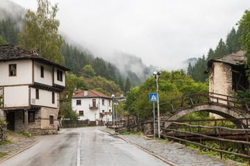 The traditional village of Shiroka Laka - Bulgaria