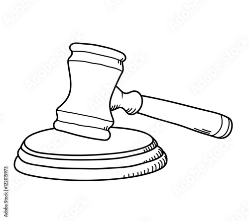 quot gavel law hammer a hand drawn vector illustration of a gavel clip art free gavel clipart transparent