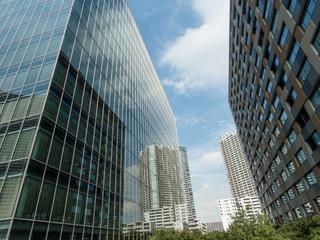 豊洲のオフィスビル街