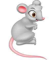 Cartoon mouse illustration