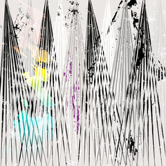 abstract grunge background, with paint strokes and splashes
