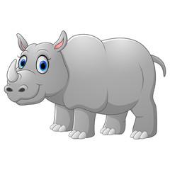 Cute Cartoon rhino