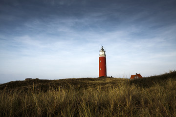 Lighthouse on texel, Netherlans