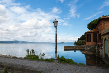 Bolsena lake - View from Capodimonte