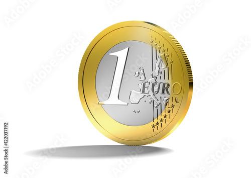 1 Euro Münze Stockfotos Und Lizenzfreie Bilder Auf Fotoliacom