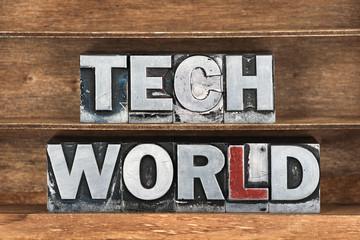 tech world tray