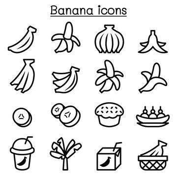 Banana icons