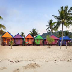 tropical gateway hut