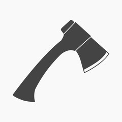Axe icon of vector illustration for web and mobile