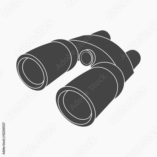 binoculars icon vector - photo #29