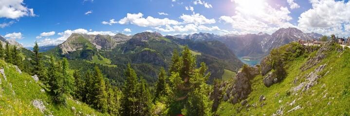 Alpenpanorama im Berchtesgadener Land