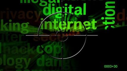 Wall Mural - Radar on internet