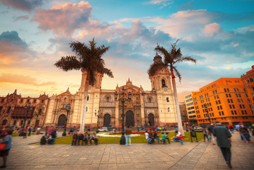 Panoramic view of Lima