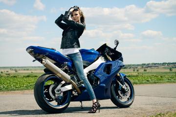 race motorcycle