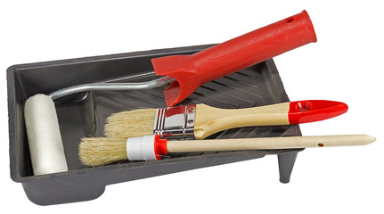 Tools for painting houses