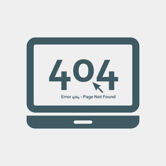 Page not found Error 404 layout. Vector concept illustration for page 404. Page is lost and not found message.