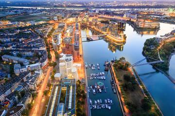 Düsseldorf von oben - Deutschland
