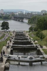 Canal in Ottawa, Ontario, Canada