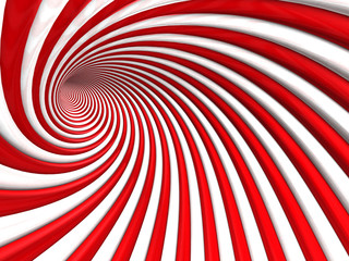 Abstract Spiral Stripe Pattern Tunnel Background