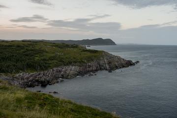 Coastline, Avalon Peninsula Bary, Newfoundland, Canada