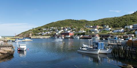 Fishing Boats, Avalon Peninsula, Newfoundland, Canada